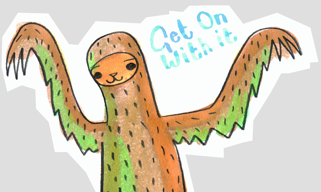 sloth detail