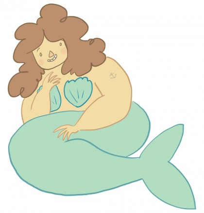 Chubby Mermaid
