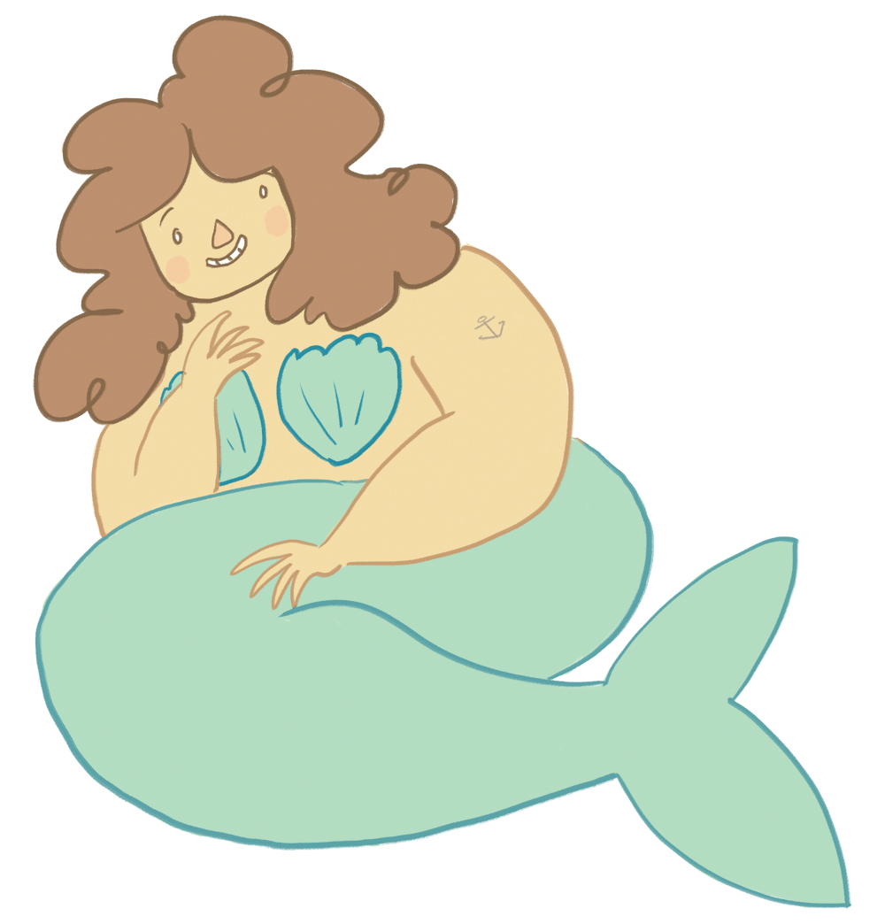 chubby mermaid copy