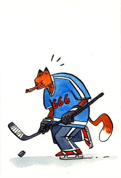 Hockey Fox